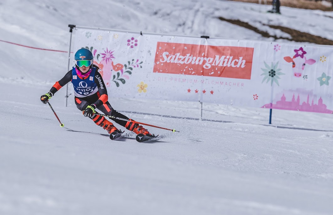 13.03.2021, Galtenberglift, Inneralpbach, AUT, OeSV Landeskinderrennen, Salzburg Milch Kids Cup. EXPA Pictures © 2021, PhotoCredit: EXPA/ Stefan Adelsberger