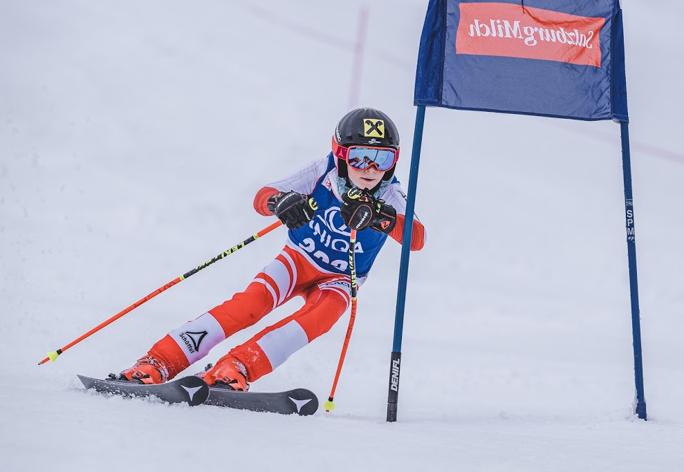 14.03.2021, Galtenberglift, Inneralpbach, AUT, OeSV Landeskinderrennen, Salzburg Milch Kids Cup. EXPA Pictures © 2021, PhotoCredit: EXPA/ Stefan Adelsberger